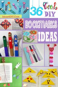 Cool DIY Bookmarks Ideas