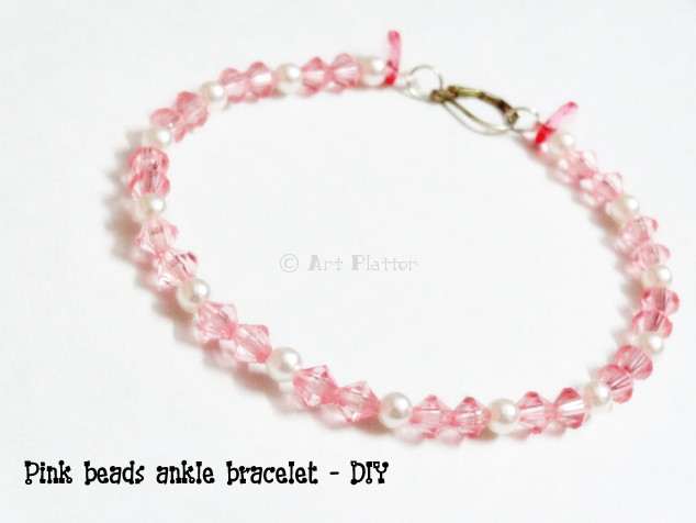 Beaded Ankle Bracelets Tutorials DIY