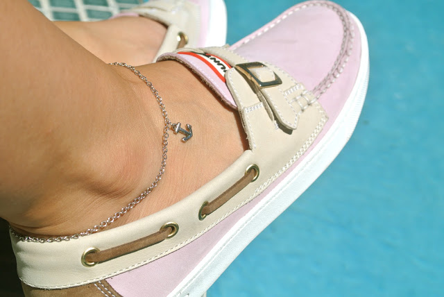 DIY Anchor Anklet Bracelets Ideas