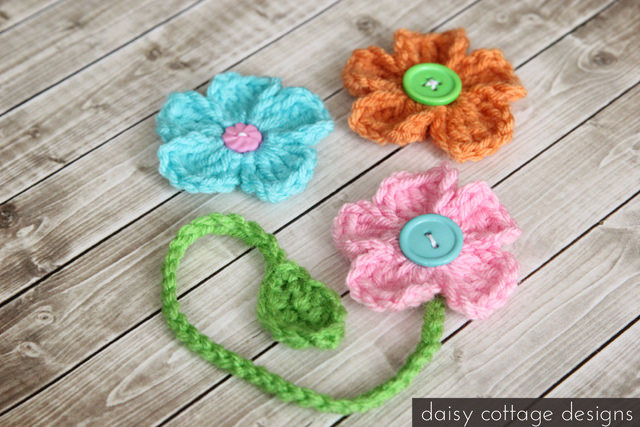 DIY CROCHET BOOKMARKS PATTERNS