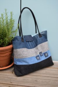 DIY Denim Tote Bag