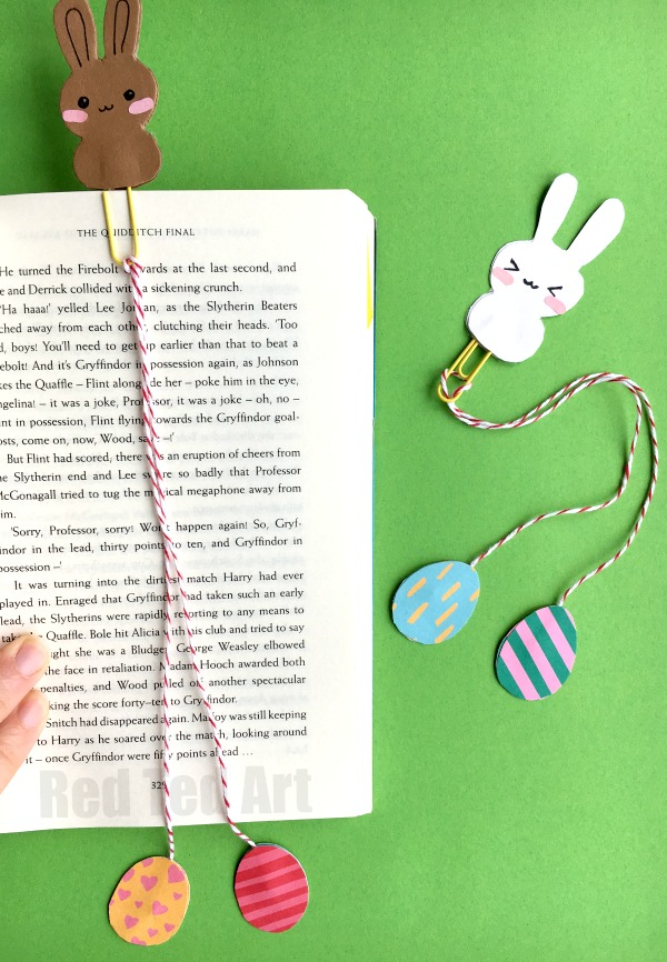 DIY EASTER BOOKMARK
