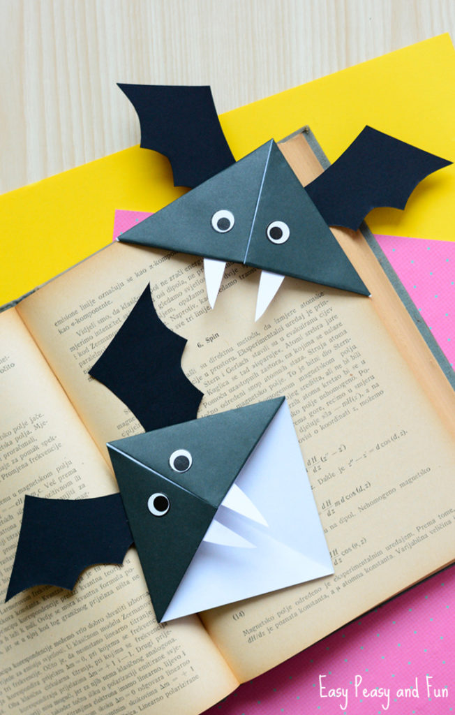 DIY HALLOWEEN BOOKMARK