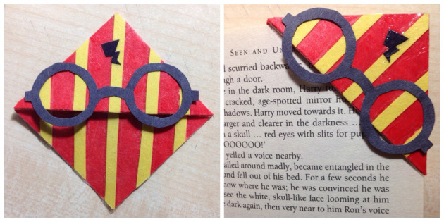 DIY HARRY POTTER BOOKMARK
