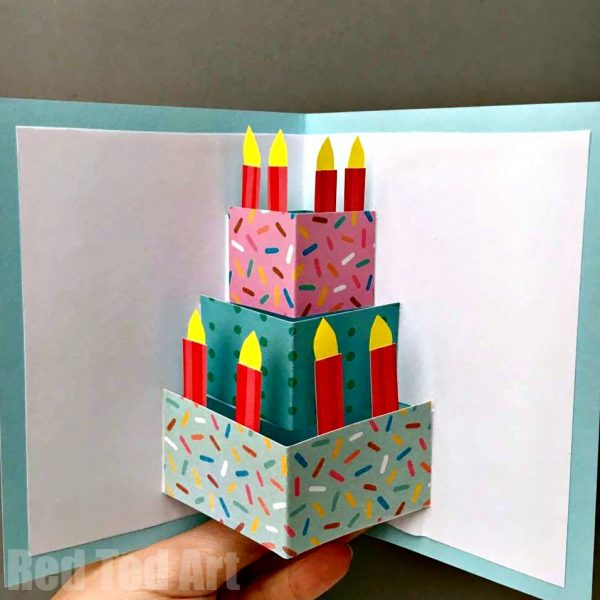 DIY Pop-Up Birthday Cards