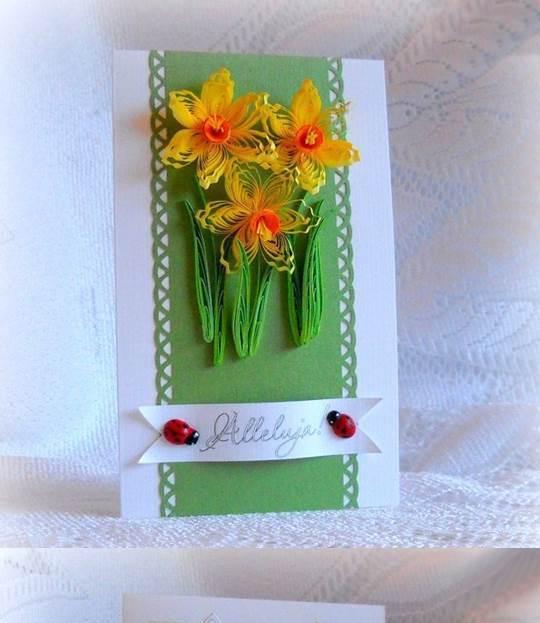 DIY Quilling Birthday Cards