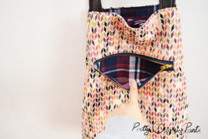 DIY Tote Bag Pattern With Pockets