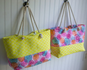 DIY Tote Bag With Rope Handles