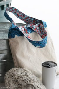 Easy DIY Reversible Tote Bag