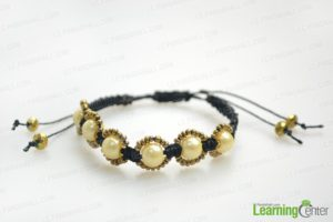 Hemp Bracelet Pattern With Beads