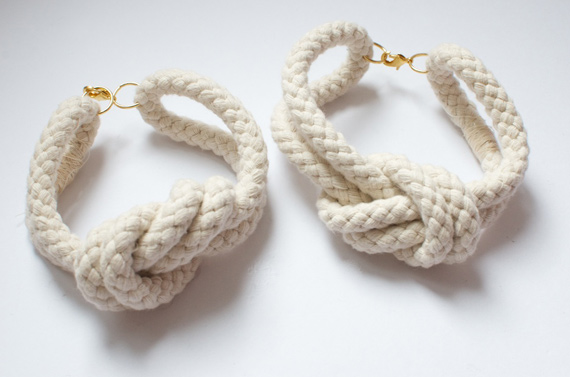 How to DIY Rope Ankle Bracelet