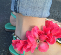 How to make Thick Ankle Bracelets