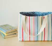 Pattern For Tote Bag With Flat Bottom