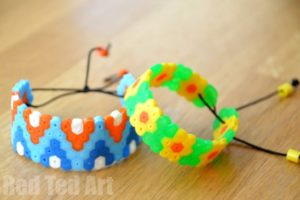 Perler Bead Bracelet Patterns