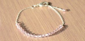 Simple Bead Bracelet Pattern
