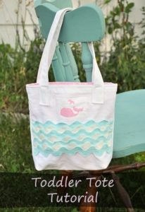 Sweet DIY Mini Tote Bags for Kids