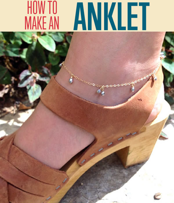 Swinger Ankle Bracelet DIY IdeasSwinger Ankle Bracelet DIY Ideas