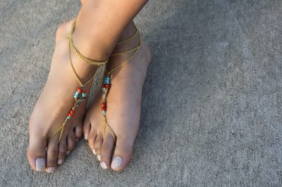 Toe Ankle Bracelet DIY Tutorials