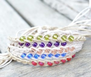 Easy Woven Beaded Bracelet Patterns