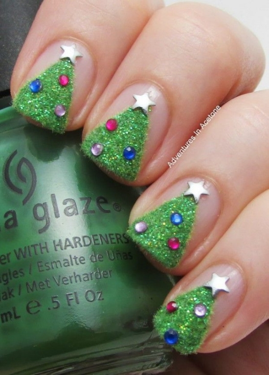 Christmas Gel Nail DesignsChristmas Gel Nail Designs