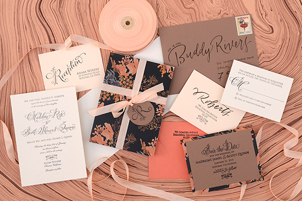 DIY Autumn Wedding Invitation