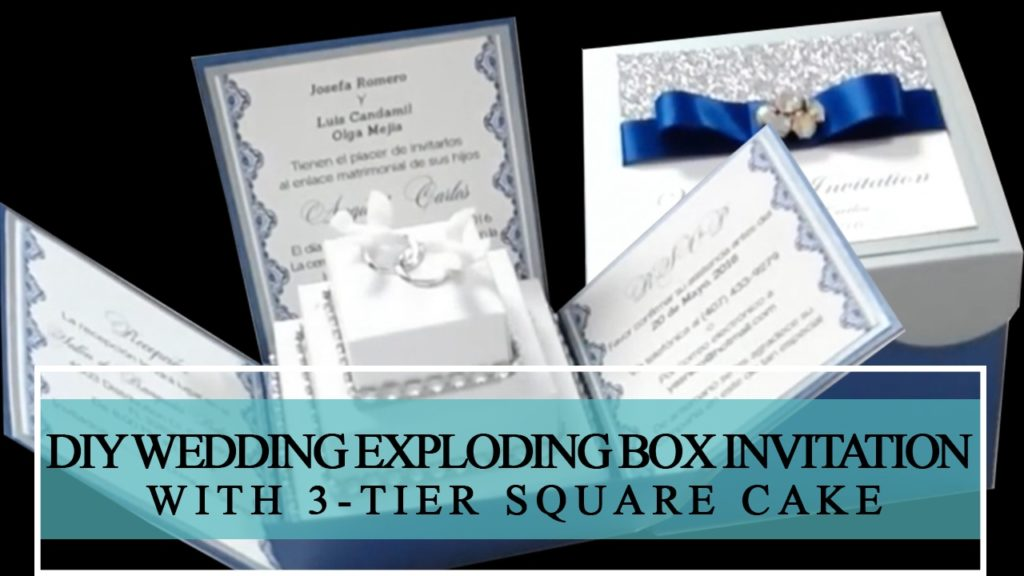 DIY Boxed Wedding Invitation