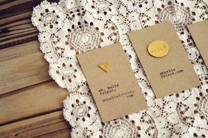 DIY Inexpensive Business Cards Ideas