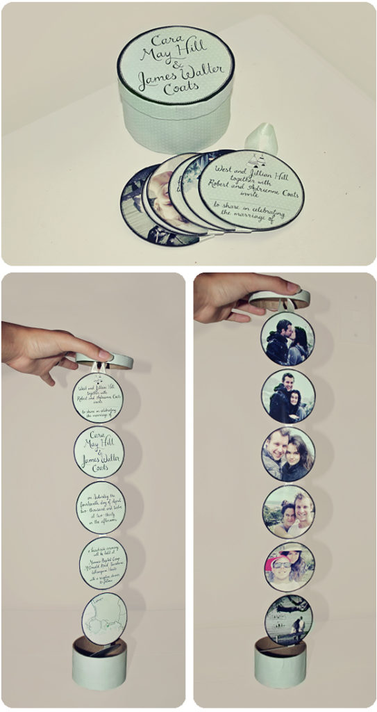 DIY Photo Wedding Invitation