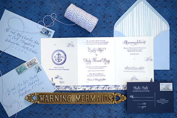 DIY Tri-Fold Wedding Invitation Ideas