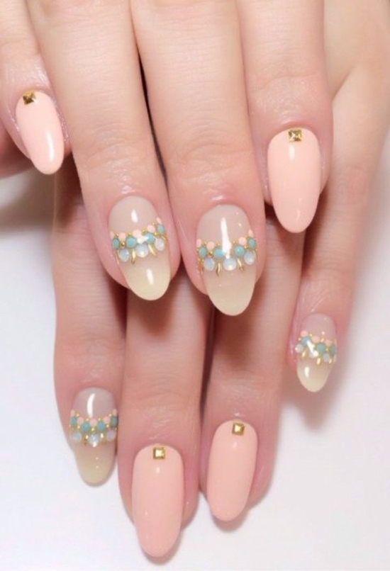 Gel Nail Designs for Wedding