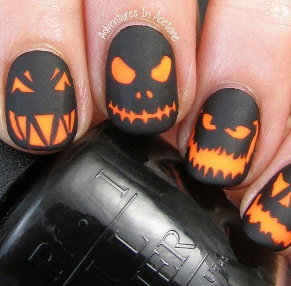 Halloween Gel Nail Designs