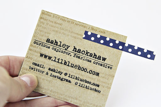 Recyclable Business Cards