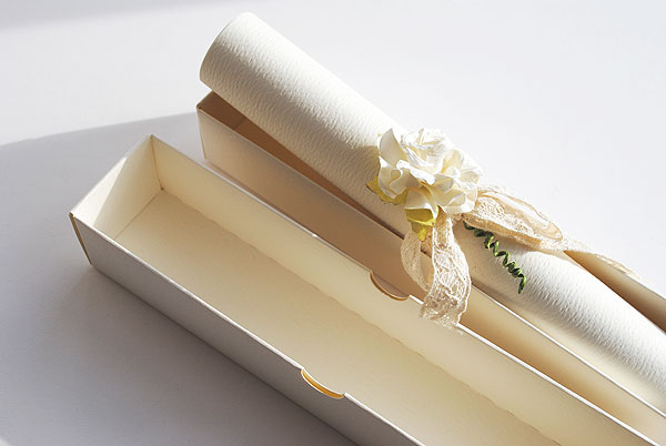 Diy Scroll Wedding Invitations: 35+ Creative DIY Wedding Invitations Ideas