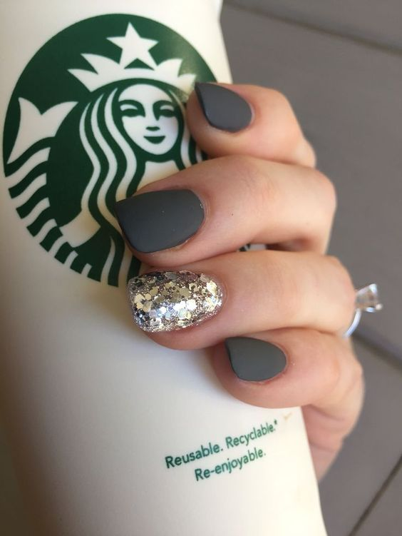 unique design gel nails - Gel Nail Design Ideas