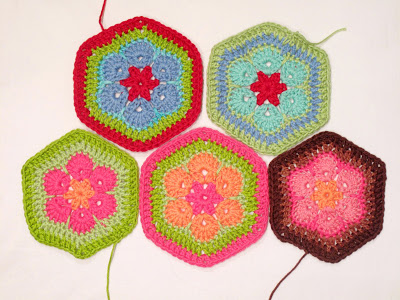 African Flower Crochet Tutorials