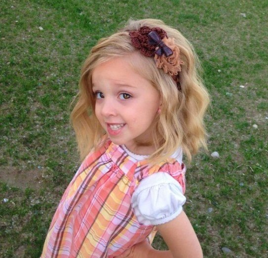 Baby Flower Bows And Headbands Ideas