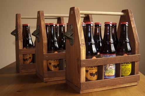 Beer Bottle Caddy