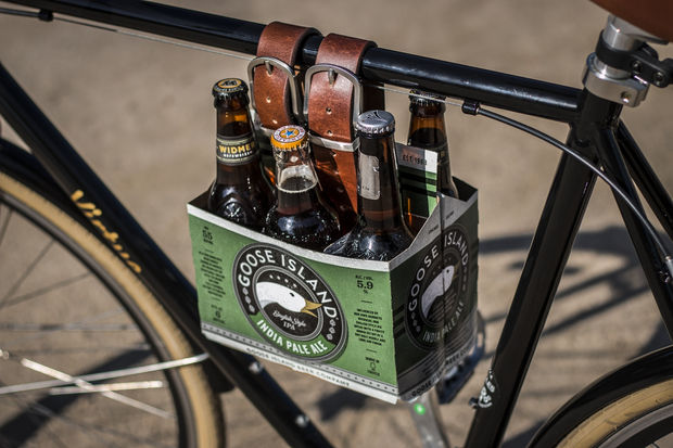 Beer Caddy For Bike Plan