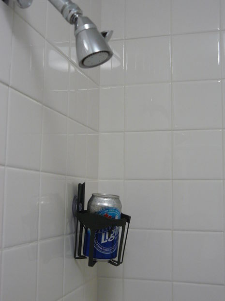 Beer Caddy For Shower