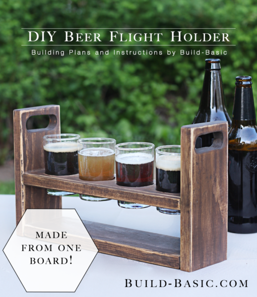 Beer Flight Caddy