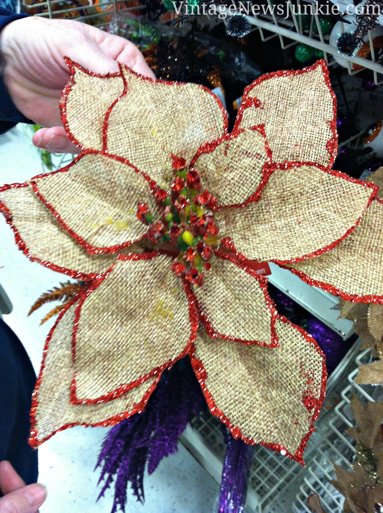 24+ DIY Burlap Flowers Tutorials