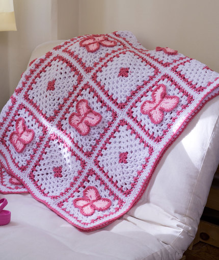 Butterfly Afghan Crochet Patterns for Blankets
