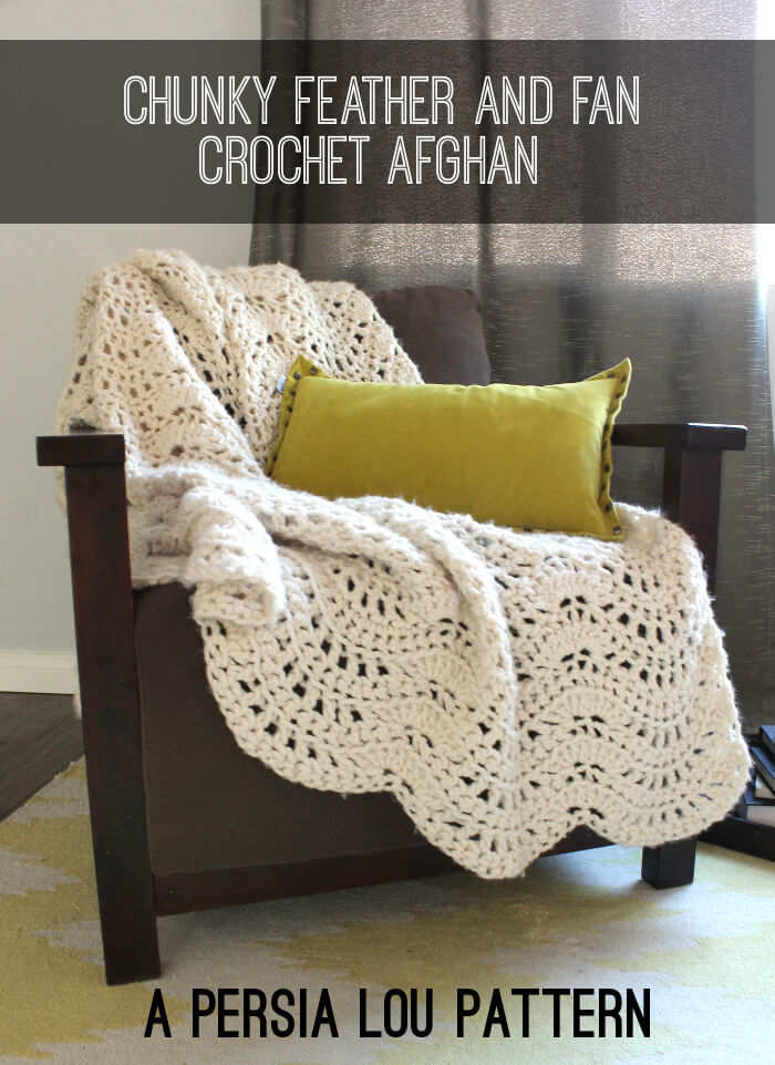Chunky Crochet Afghan Patterns