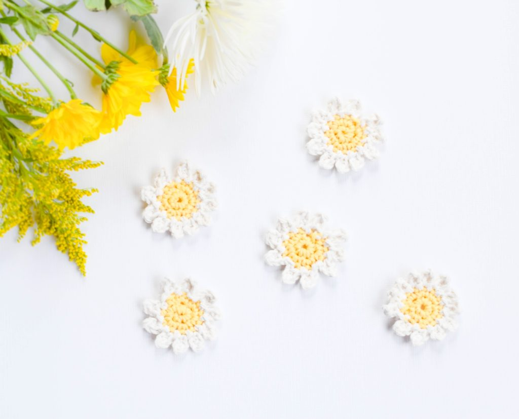 Crochet Daisy Flower Pattern Free