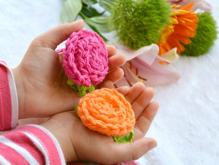 Crochet Flower Motif Design Tutorial