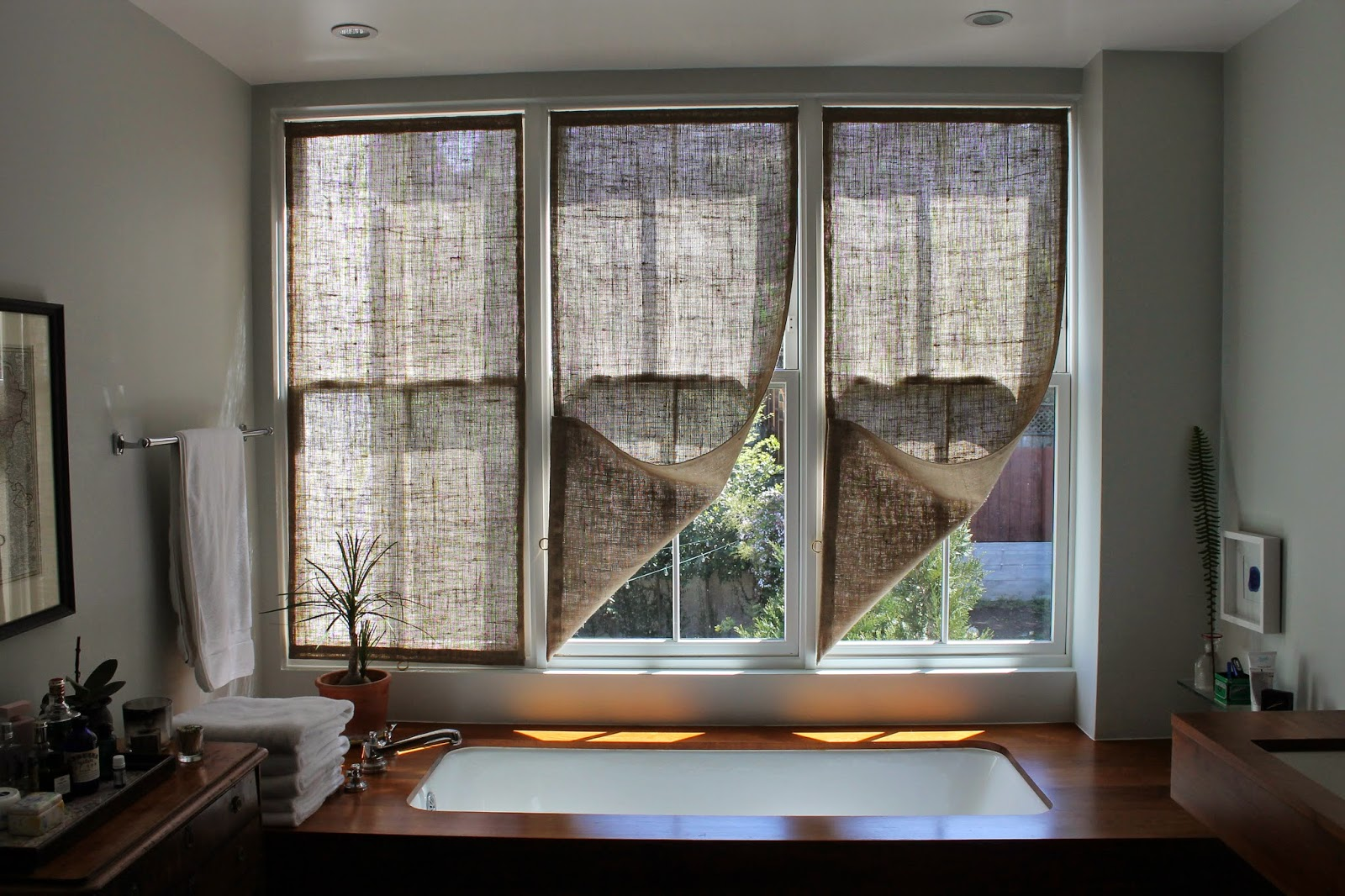 How To Make Diy Burlap Curtains Ideas For Diy