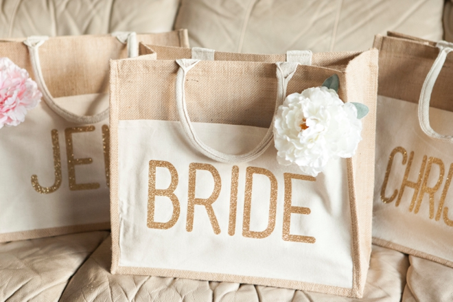Burlap Gift Bags With Handles