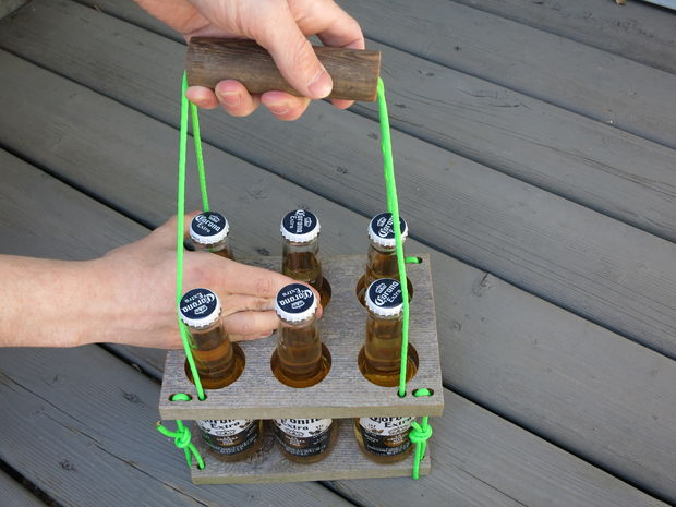 DIY Unique Beer Caddy