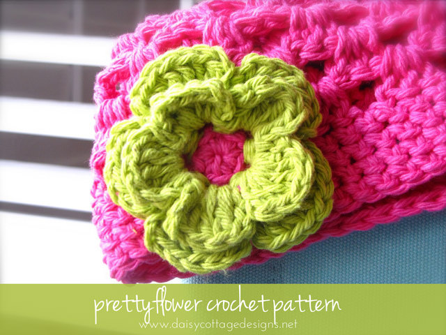 Double Layer Crochet Flower Pattern