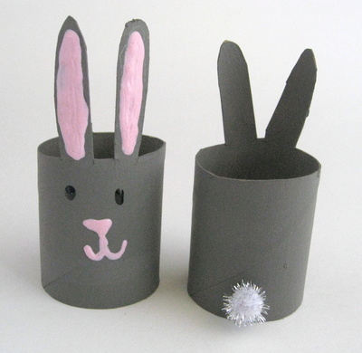 Easter Toilet Paper Roll Crafts tutorials